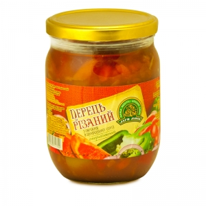 Sliced pepper with vegetables twist-off 0.5L