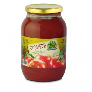 Сanned tomatoes with tomato juice twist-off 1L