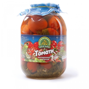 Сanned tomatoes 3L