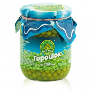 Green pea canned 0.5L