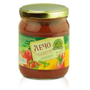 Lecho peppers with tomato sauce twist-off 0.5L