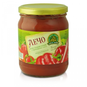 Lecho Extra peppers with tomato sauce twist-off 0.5L